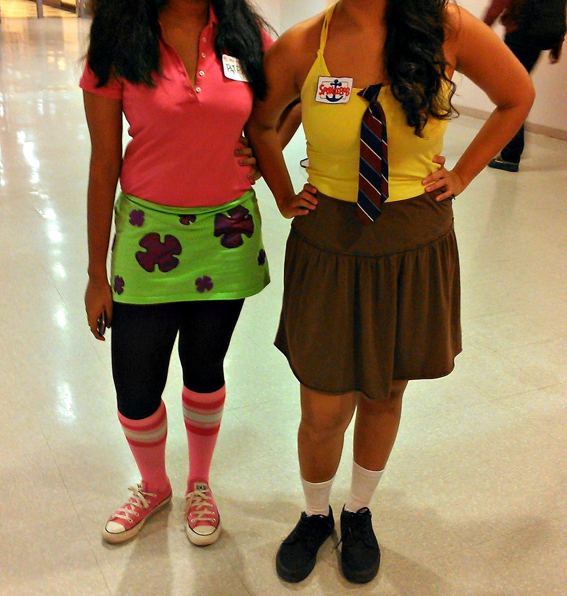 spongebob costume | not your every day brown girl